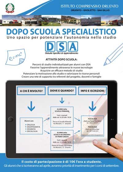 Doposcuola Specialistico DSA
